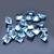 Brazilian Aquamarine faceted 5 mm Princes cut Square Semi Precious flawless