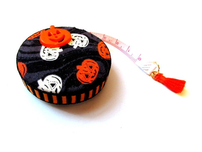 Retractable Tape Measure Jack O Lanterns Pumpkin Small Measuring Tape