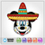 Mickey Mouse Day of the Dead SVG / Instant Download / Digital Clipart / Cutting