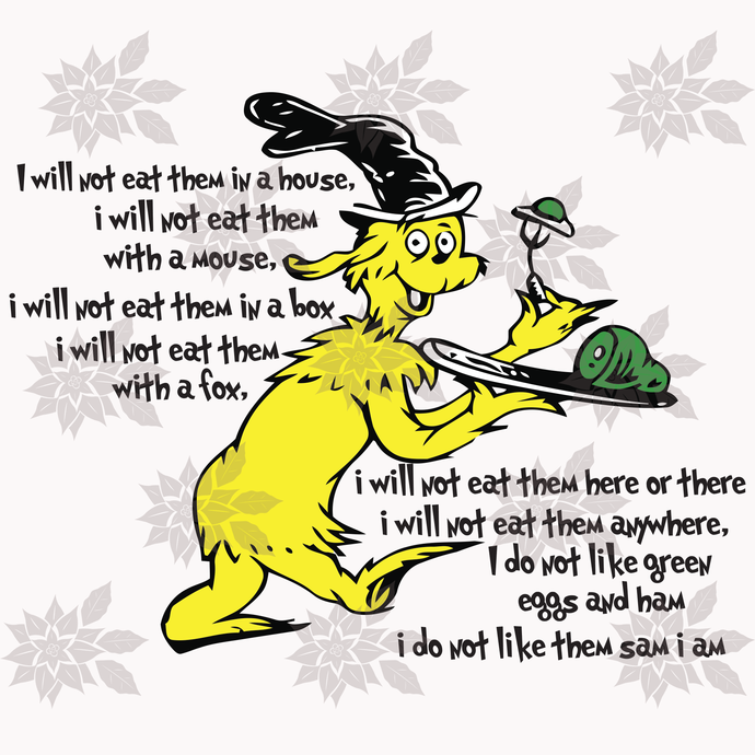 Guy am I , Dr seuss svg, dr seuss party,fandom power,green egg,ham recipe, Dr
