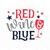 4th of July SVG design, Red Wine and Blue SVG file, Wine SVG file, Fourth of