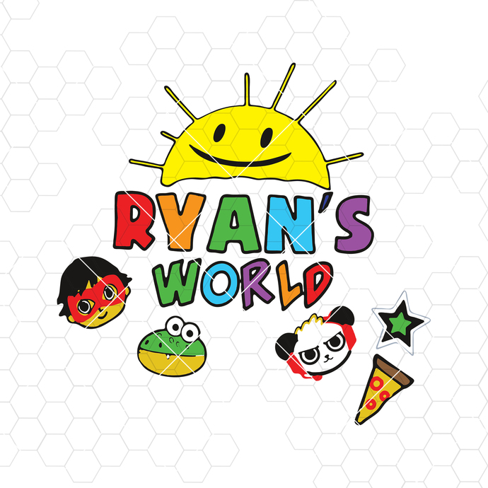 DIGITAL FILE Ryans World Toy Review You Tube Kids svg, make shirt, cup, more