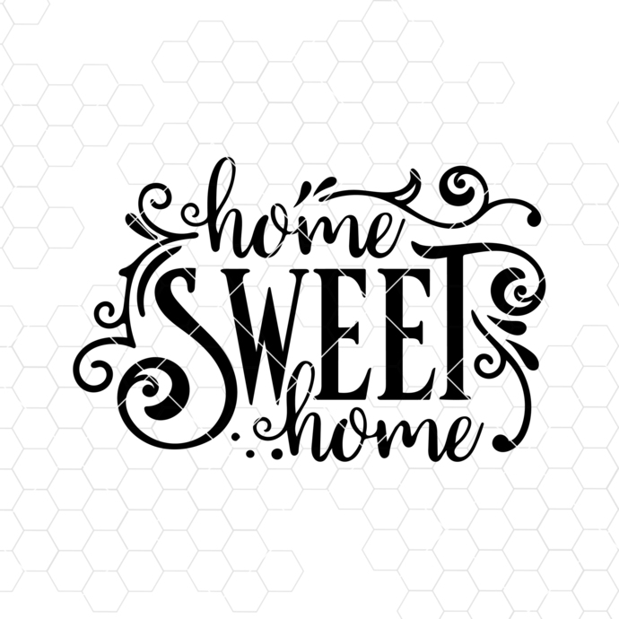Home Svg File,Home Sweet Home Svg, Home Svg Quote, Home Decor Svg Cutting File
