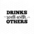 Drinks well with others svg, Bachelorette svg, Wine svg, Beer svg, Alcohol svg,