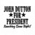 John Dutton for President Digital Cut Files Svg, Dxf, Eps, Png, Cricut Vector,