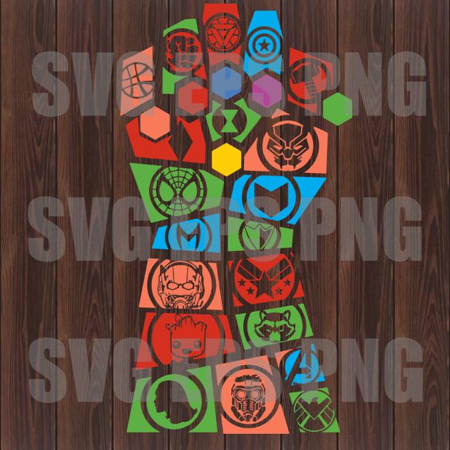 Avengers svg, Infinity War svg, Thanos svg, Avengers svg files, Superheroes svg,