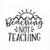 Beaching Not Teaching SVG, Teacher's Downloadable Design, School Svg