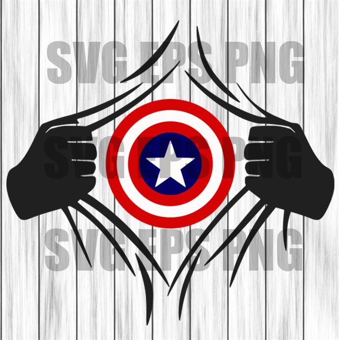 Captain america svg, superhero svg, super heroes svg, svg files, avengers svg,