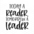 Today A Reader, Tomorrow A Leader SVG File, Instant Download for Cricut or