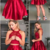 Two Piece Homecoming Dresses Short Dress,136