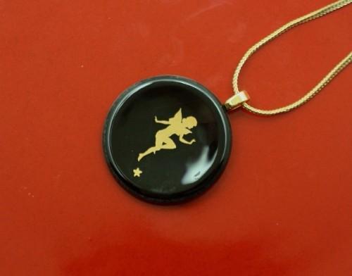 Golden Fairy Pendant