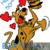 Happy 50th Birthday Scooby Doo!  200 x 259 graph crochet graphghan pattern