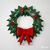 Printable Wreath papercraft trophy perfect for your Christmas decor