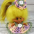 Lovely Crocheted Outfit Clothes Dress for Vintage 2 1/2 - 3 inch Dam Troll Doll