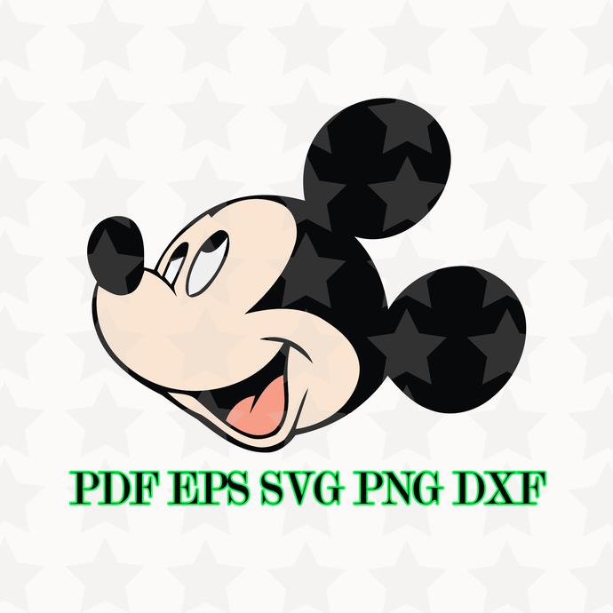 Retro Mickey Mouse, Mickey Mouse clipart, Mickey svg, Mickey clipart, Disney