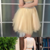 Two Piece Scoop Short Cheap Tulle Beaded Homecoming Dresses Online,145