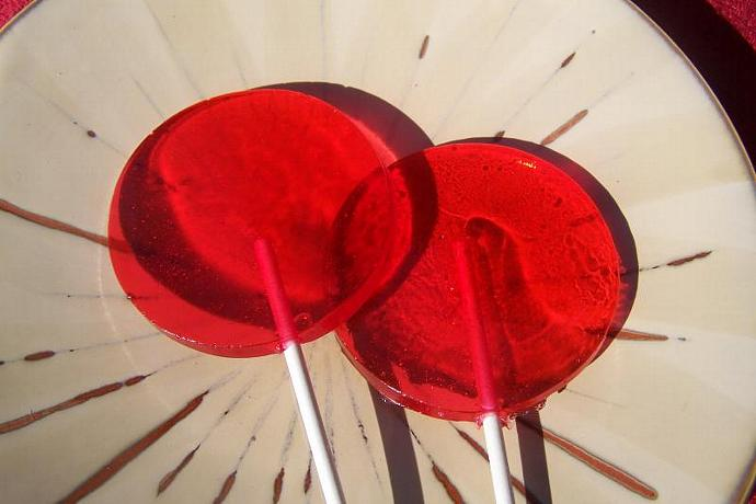 "8 3"" inch Round Basic Lollipop Sucker Party Favor"