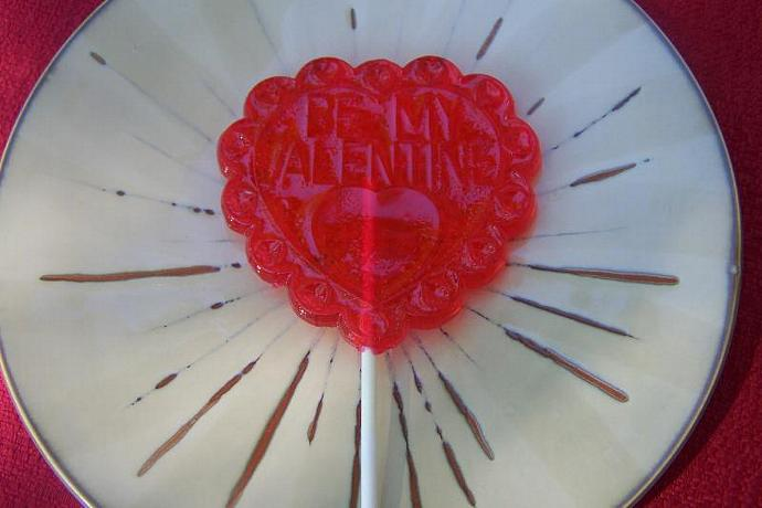 3 BIG Love Valentine's Candy Lollipop Sucker