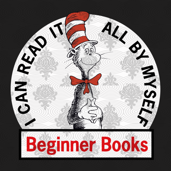 I can read it by myself, beginner books, dr by BIBISHOP on Zibbet