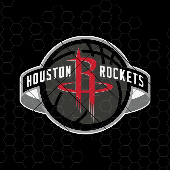 Houston Rockets Digital Cut Files Svg, Dxf, Eps, Png, Cricut Vector, Digital Cut