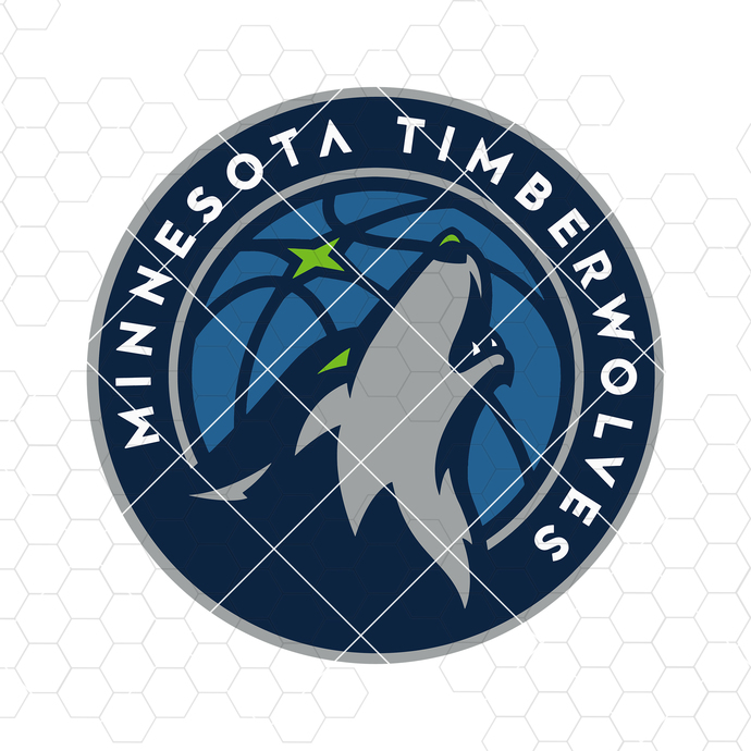Minnesota Timberwolves Digital Cut Files Svg, Dxf, Eps, Png, Cricut Vector,