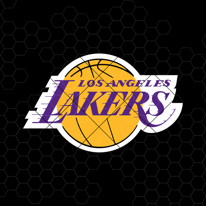 Los Angeles Lakers Digital Cut Files Svg, Dxf, Eps, Png, Cricut Vector, Digital
