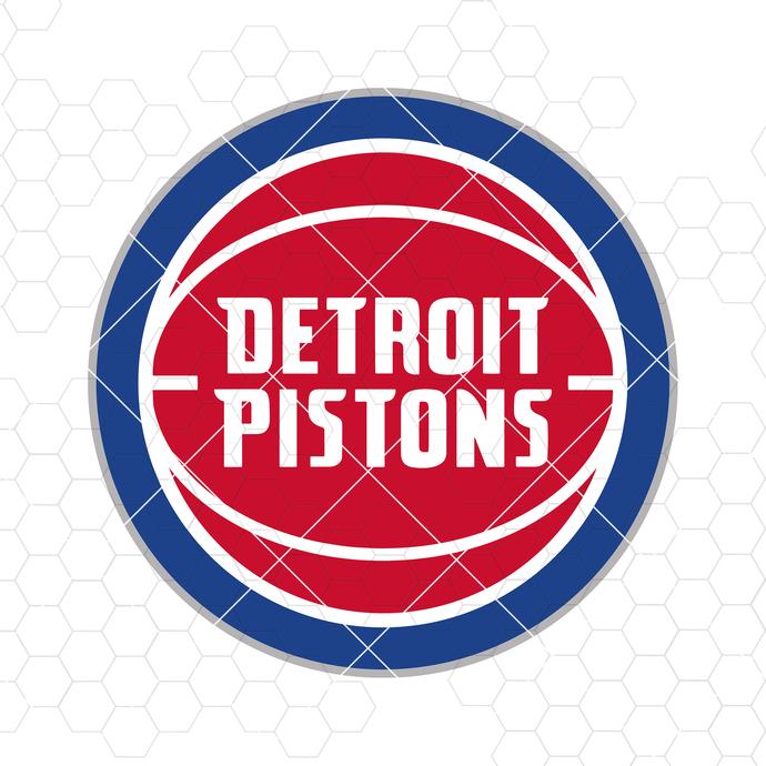 Detroit Pistons Digital Cut Files Svg, Dxf, Eps, Png, Cricut Vector, Digital Cut