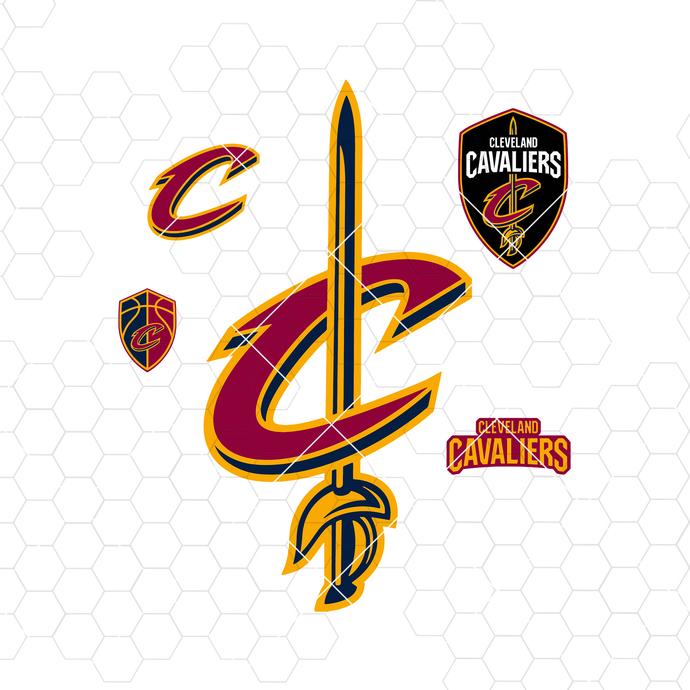 Cleveland Cavaliers Digital Cut Files Svg, Dxf, Eps, Png, Cricut Vector, Digital