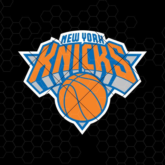 New York Knicks Digital Cut Files Svg, Dxf, Eps, Png, Cricut Vector, Digital Cut