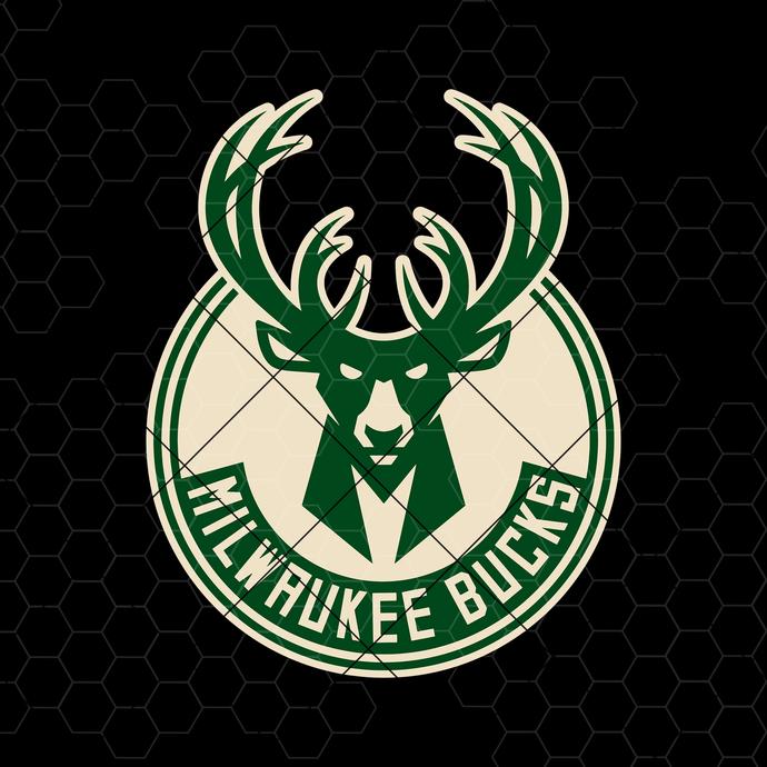 Milwaukee Bucks Digital Cut Files Svg, Dxf, Eps, Png, Cricut Vector, Digital Cut