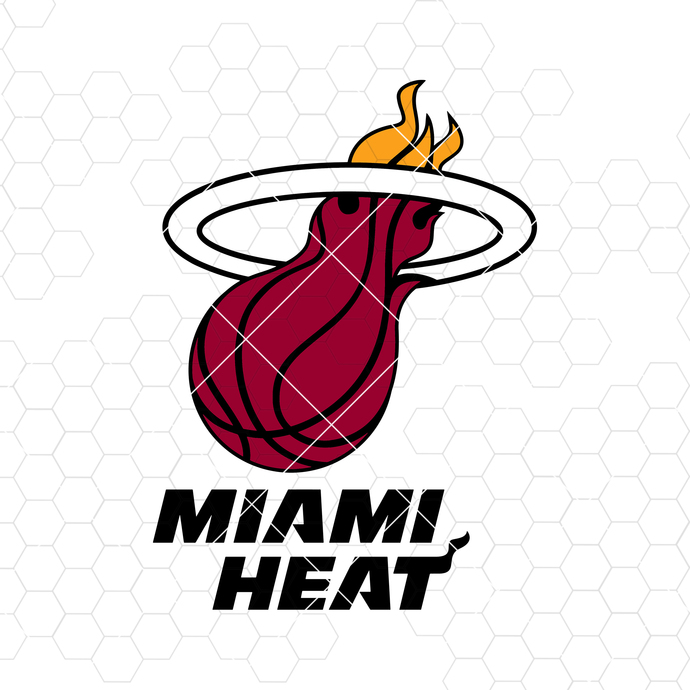Miami Heat Digital Cut Files Svg, Dxf, Eps, Png, Cricut Vector, Digital Cut