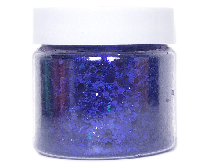 Wild One - Purple Color Shifting, Loose Cosmetic & Craft Chunky Glitter Mix