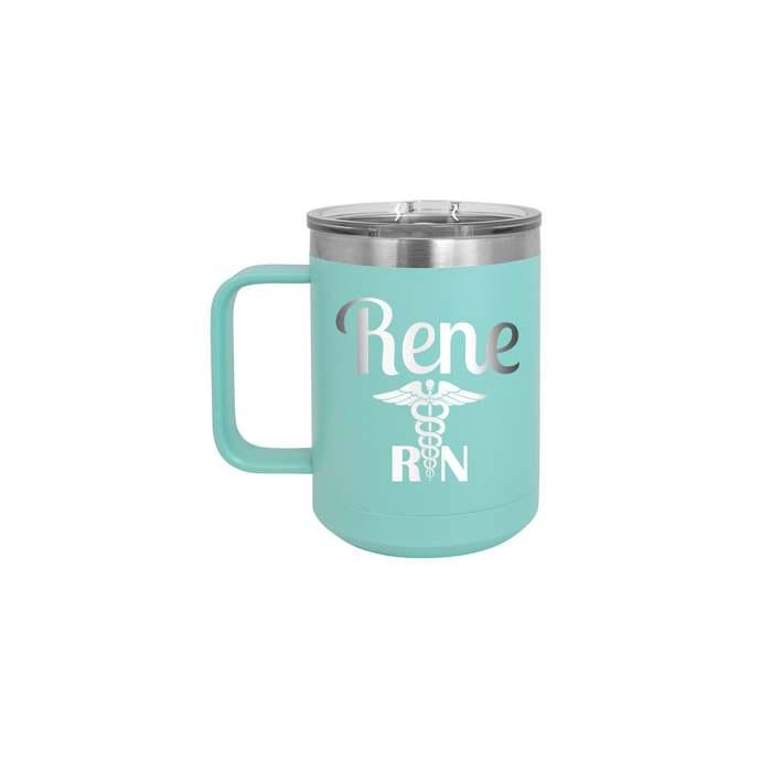 Caduceus Personalized 15 oz Insulated Coffee Mug