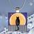 Pendant Necklace Moonlight Magic Cat