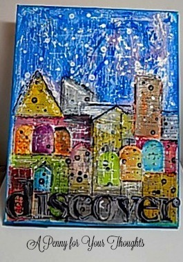 Discover Mixed Media Canvas Covered Panel. Ready to Ship