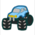 Monster Trucks Embroidery Applique Design Combo Set