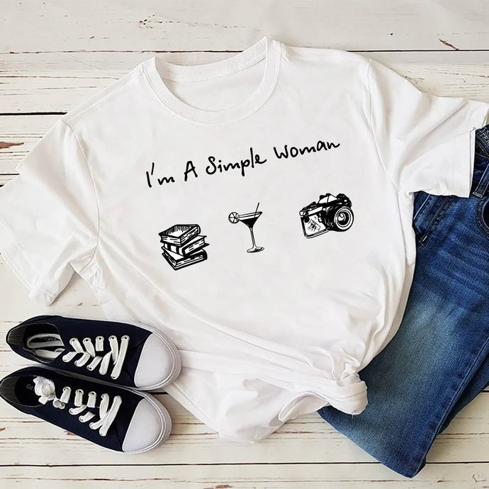 I am a simple woman svg, simple woman, woman svg, woman shirt, girl gift, gift
