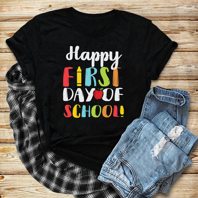 Happy First Day Of 1st Grade, 1st grade, 1st grade svg, back to school svg, back