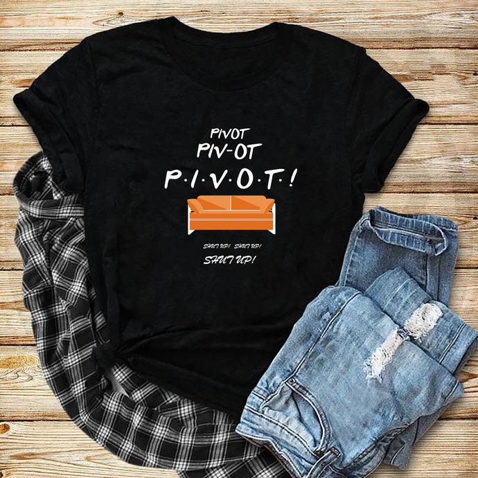 Pivot Pivot Pivot Svg, Pivot Svg, Pivot, Pivot Shut Up, Silhouette Cameo, Cricut