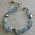 AQUAMARINE & HILL TRIBE SILVER Bracelet