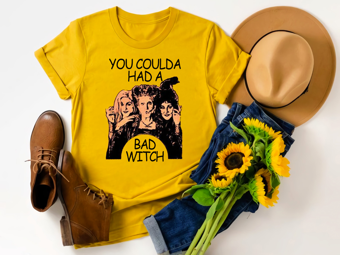 You coulda had a bad witch, bad witch, witch, witch svg, black hat, halloween