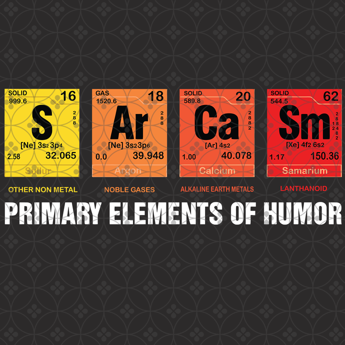Sarcasm Primary elements of humor, Sarcasm svg, Sarcasm t-shirt, adult humor,