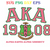 AKA SVG,Alpha kappa alpha, 1908 svg,Since 1908, alpha kappa alpha sorority,
