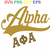 AKA SVG,Alpha kappa alpha, 1908 svg,Since 1908, alpha kappa alpha sorority,