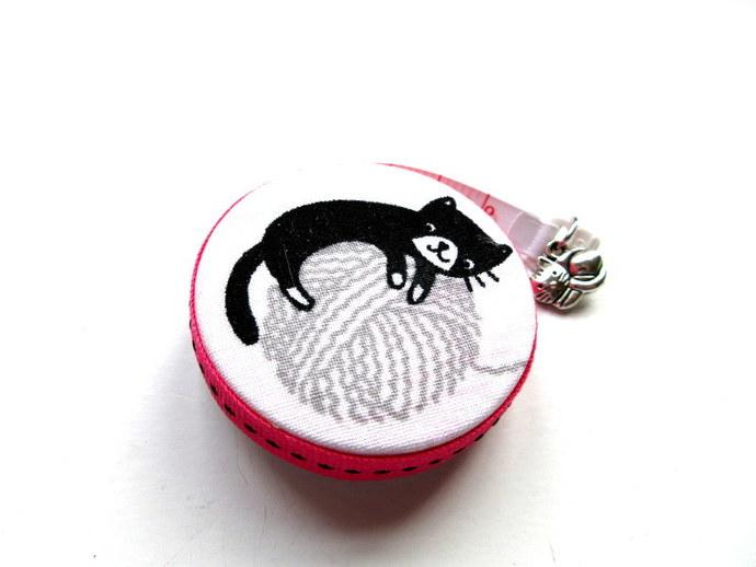 Tape Measure Yarn Cats Small Retractable Tape Measure