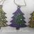 CHRISTMAS TREE ORNAMENTS- DOT ART CHRISTMAS ORNAMENTS. SET OF 3. FIREWORKS
