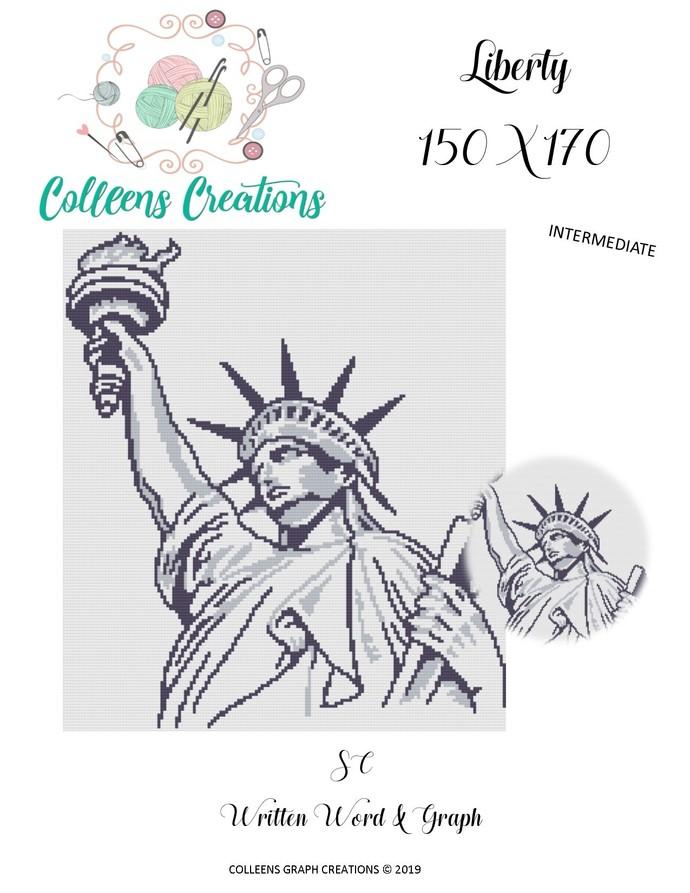 Liberty Crochet Written and Graph Design