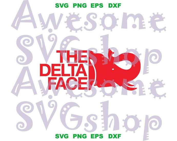 The Delta Face Delta Sigma Theta SVG Delta Sigma Theta sorority shirt DST diva