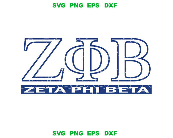 Zeta Phi Beta SVG Zeta Phi Beta Sorority Shirt ZphiB logo sign Z phi B shield