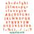 Trolls Font SVG Trolls Alphabet SVG Troll Letter Numbers Birthday shirt decor